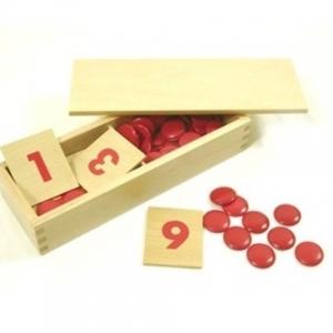Tarjetas numéricas y contadores