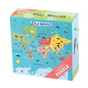 Puzzle Jumbo Mundo