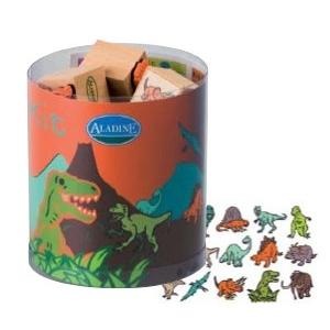 Kit 15 Sellos- Dinosaurios