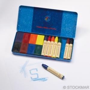 Combinado de bloques de cera  y lápices Stockmar