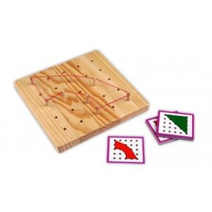 Tablero Geométrico madera 5x5