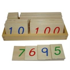 Targetas numéricas 1-9000
