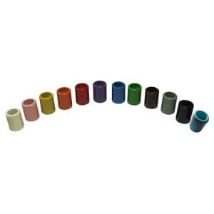 11 soportes lapiceros de colores