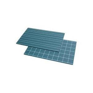 Pizarras con doble línea y cuadrados (2 uds)