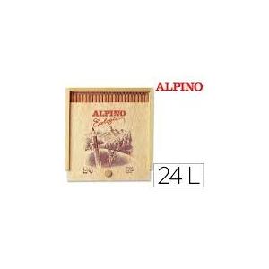 24 Lápices de colores ALPINO ECOLÓGICO