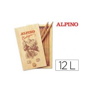 12 Lápices de colores ALPINO ECOLÓGICO