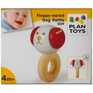Sonajero perrito orejas flexibles