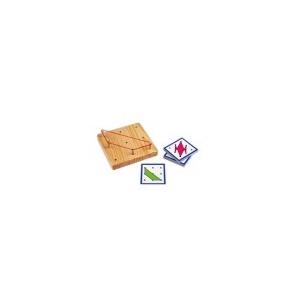 Tablero Geométrico madera 3x3