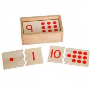 Puzzle numérico 1-10