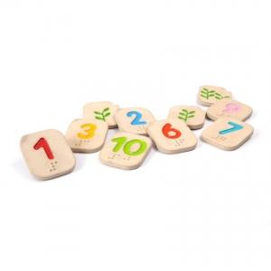 Numeros 1-10 Braille