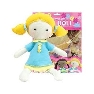 Crea tu propia muñeca de fieltro