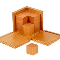 Cubo del binomio natural