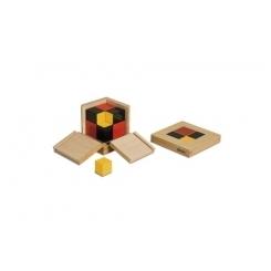 Cubo del binomio algebráico