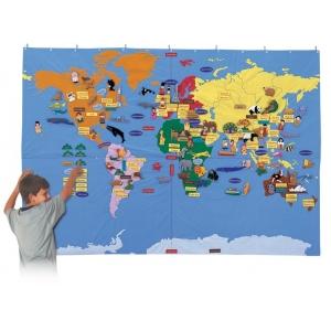 Mapamundi Textil