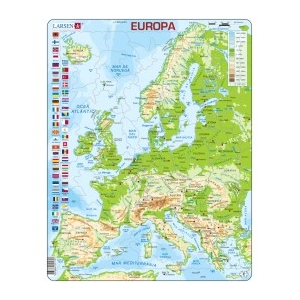 Puzle físico Europa LARSEN