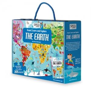 La Tierra (puzle + libro) SASSI