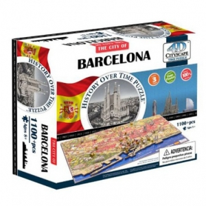 Puzle Barcelona 4D CITYSCAPE