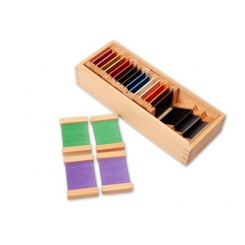 Caja de color 2 seda