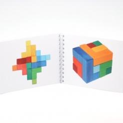 Plantilla para puzzle cuadrado