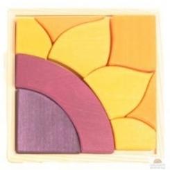 Puzzle girasol