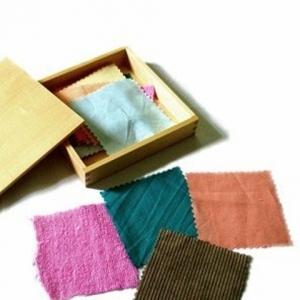 Caja de telas