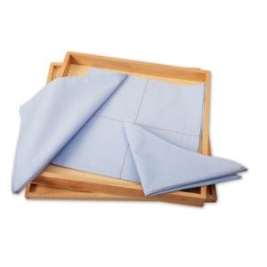 Caja de telas para doblar