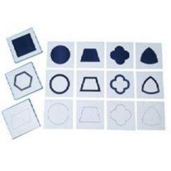Tarjetas figuras geométricas