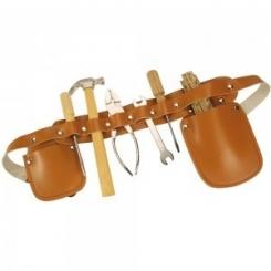 Cinturón de carpintero piel