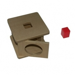 Caja de permanencia. Cubo.