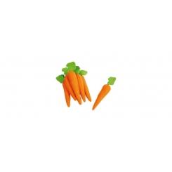 Zanahorias de fieltro