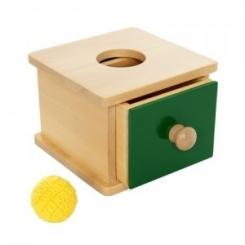 Caja de permanencia con cajón corto.