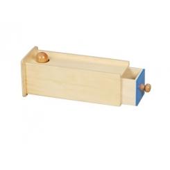 Caja de permanencia con cajón largo.