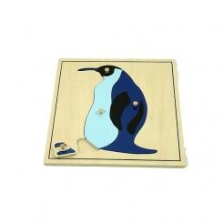 Puzzle pinguino