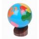 Globo de continentes