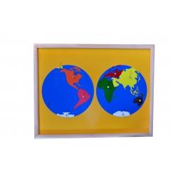 Puzzle de los continentes