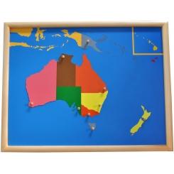 Puzzle Oceanía