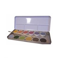 Acuarela ecológica 12 colores