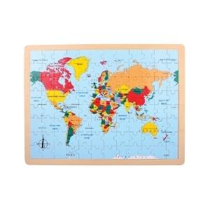 Puzle Paises del Mundo
