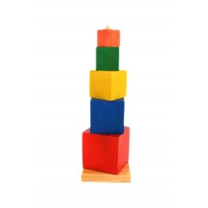 Encaje cubos de colores