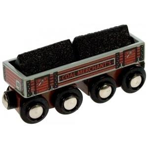 Vagón grande de carbón