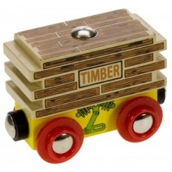 Vagón de madera
