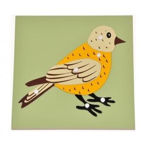 Puzle pájaro