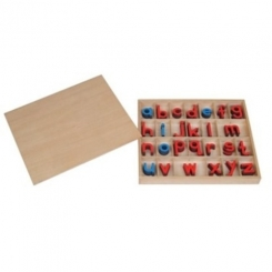 Alfabeto movil pequeño imprenta