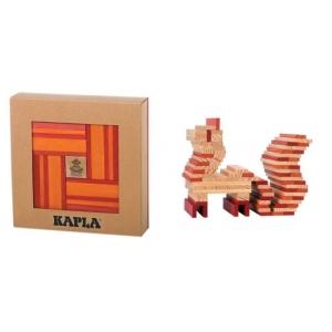 Kapla rojo 40 piezas (libro incluído)