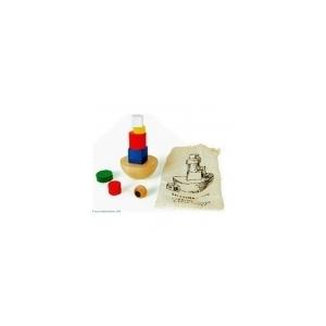 Torre de equilibrio con bolsa de algodón