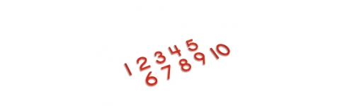 Numbers 0 – 10