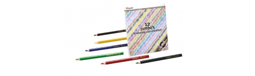 Coloured Pencils Goldline Jumbo