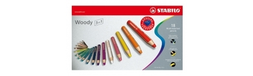 Coloured Pencils Stabilo Woody