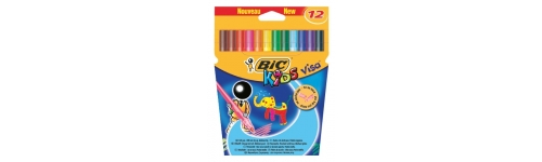 Felt Tip Pens Bic Kids Visacolour