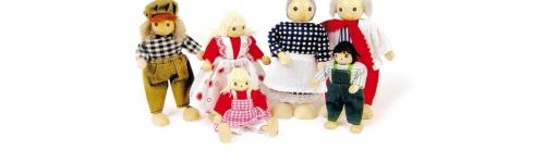 Muñecas, animales y otros